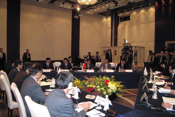 陈晓华出席第2届中日韩农业部长会