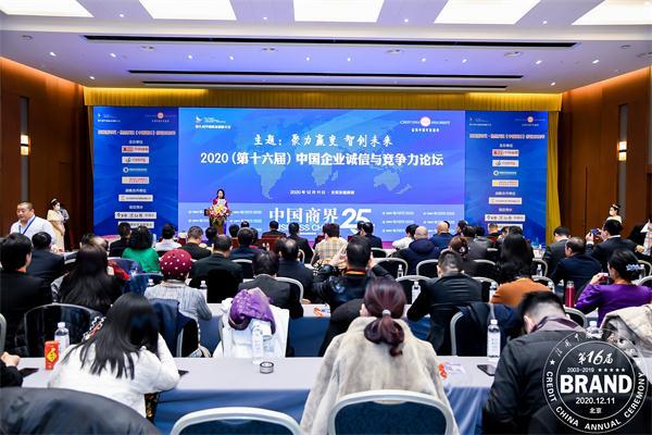 极致之选获2020中国商界企业社会